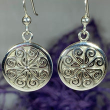 Load image into Gallery viewer, Edana Celtic Spiral Earrings