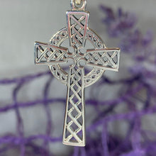 Load image into Gallery viewer, Foellan Celtic Knot Cross Necklace