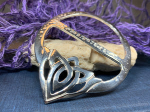 Adaira Celtic Knot Scarf Ring