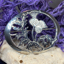 Load image into Gallery viewer, Oban Thistle Brooch