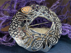 Celtic Birds Brooch