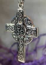 Load image into Gallery viewer, Aileran Celtic Cross Necklace
