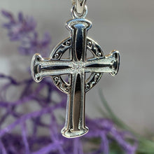 Load image into Gallery viewer, Simple Celtic Cross Necklace