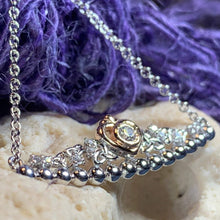 Load image into Gallery viewer, Celtic Princess Heart Necklace