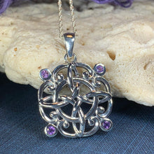 Load image into Gallery viewer, Katie Celtic Knot Necklace