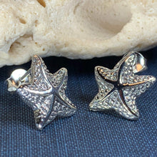 Load image into Gallery viewer, Celtic Starfish Earrings