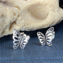 Load image into Gallery viewer, Flutter Butterfly Earrings
