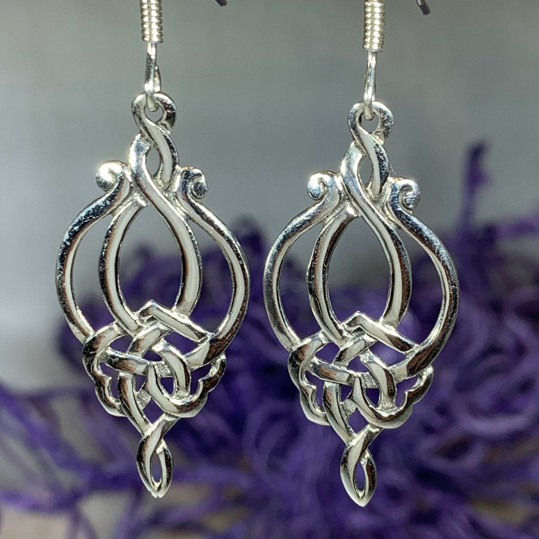 Catriona Celtic Knot Earrings