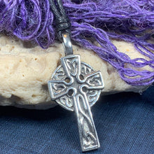 Load image into Gallery viewer, Classic Celtic Cross Necklace