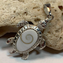 Load image into Gallery viewer, Shiva Shell Turtle Necklace