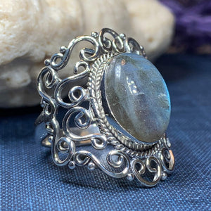 Galynna Celtic Spiral Ring