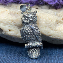 Load image into Gallery viewer, Watchful Owl Necklace