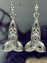 Load image into Gallery viewer, Keelia Trinity Knot Earrings