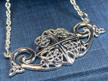 Load image into Gallery viewer, Keavy Trinity Knot Necklace