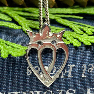 Two Hearts Luckenbooth Necklace