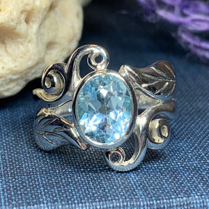 Duvessa Celtic Filigree Ring
