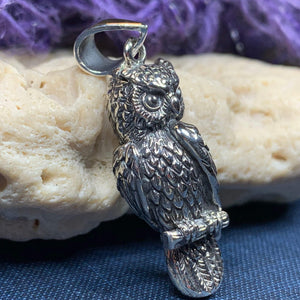 Watchful Owl Necklace