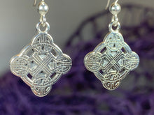 Load image into Gallery viewer, Mirna Celtic Knot Earrings