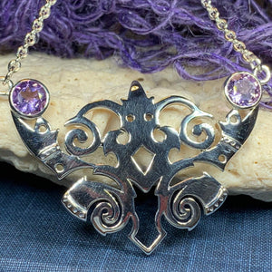 Emeria Celtic Goddess Necklace