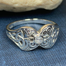 Load image into Gallery viewer, Celtic Triple Moon Ring
