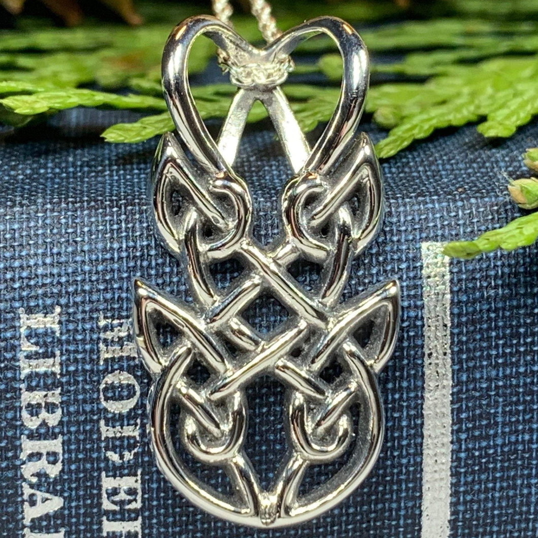 Adria Celtic Knot Necklace