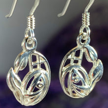 Load image into Gallery viewer, Highland Rose Earrings