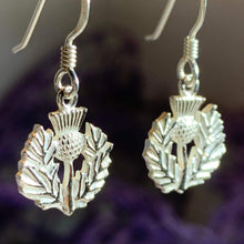 Load image into Gallery viewer, Branka Thistle Earrings