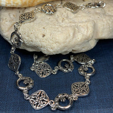 Load image into Gallery viewer, Kira Claddagh Celtic Knot Bracelet
