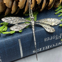 Load image into Gallery viewer, Realistic Dragonfly Necklace