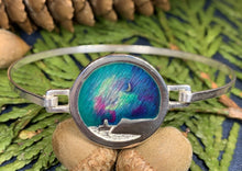Load image into Gallery viewer, Northern Lights Bracelet, Celtic Jewelry, Scotland Jewelry, Outlander Jewelry, Mountain Jewelry, Girlfriend Gift, Wife Gift, Wiccan Jewelry