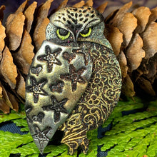 Load image into Gallery viewer, Magical Owl Brooch