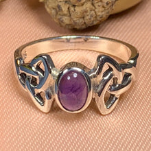 Load image into Gallery viewer, Trinity Knot Ring, Celtic Jewelry, Irish Jewelry, Celtic Knot Jewelry, Ireland Ring, Irish Dance Gift, Anniversary Gift, Scotland Jewelry