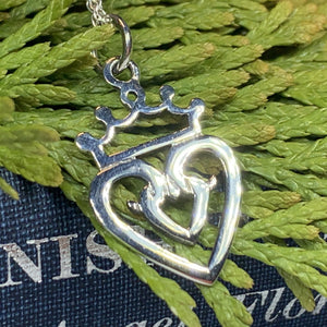 Luckenbooth Necklace, Scotland Jewelry, Outlander Jewelry, Bridal Jewelry, Mom Gift, Anniversary Gift, Celtic Jewelry, Girlfriend Gift