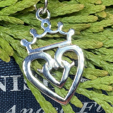 Load image into Gallery viewer, Luckenbooth Necklace, Scotland Jewelry, Outlander Jewelry, Bridal Jewelry, Mom Gift, Anniversary Gift, Celtic Jewelry, Girlfriend Gift