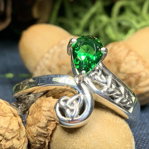 Trinity Knot Ring, Celtic Jewelry, Irish Jewelry, Celtic Knot Jewelry, Irish Ring, Irish Dance Gift, Anniversary Gift, Ireland Gift