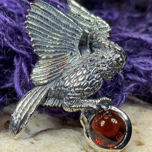 Regal Owl Necklace