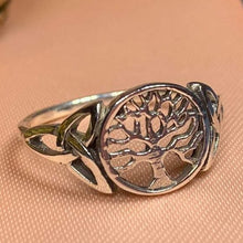 Load image into Gallery viewer, Celtic Tree of Life Ring