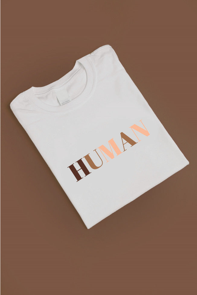 HUMAN Signature Tee (10% Charity Donation)