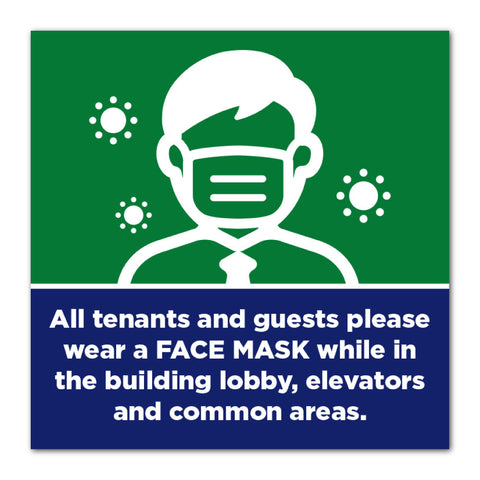Common Area - Mask Sign