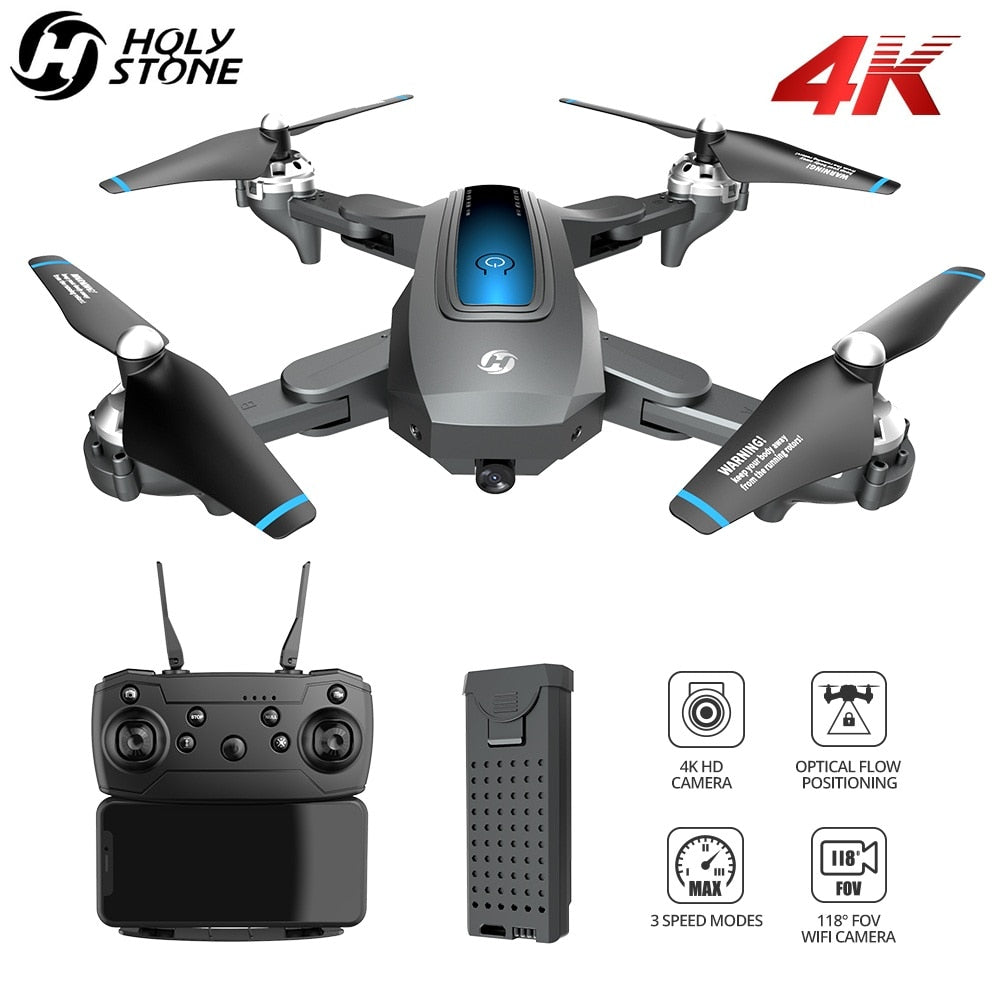 Holy Stone HS240 Drone 4K Profesional FPV Drone With Camera HD 4K Quadrocopter Foldable RC Quadcopter With 13 Mins Flight Time