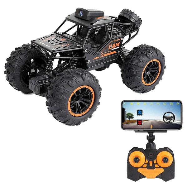WIFI FPV Off-road Remote Control Car With 720P Camera RC Car Toys High Speed Remote Video Off-road Trucks Toys For Kids Children
