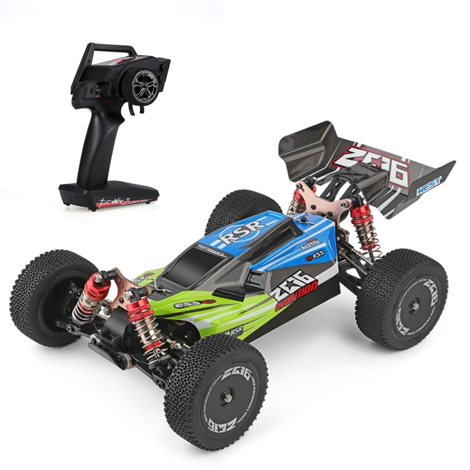 Wltoys XKS 144001 1/14 RC Car 60Km/h High Speed RC Racing Car 2.4GHz RC Buggy 4WD 550 Motor RC Off-Road Drift Car RTR VS 12428