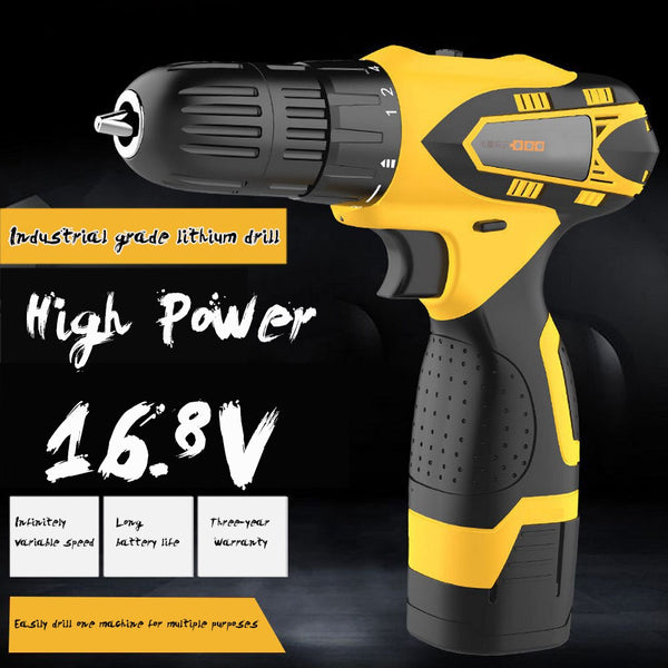 Wireless Electric Screwdriver 18-speed Adjustable Speed Hand Drill USB Electric Screwdriver Hand Drill Power Tool Screwdriver