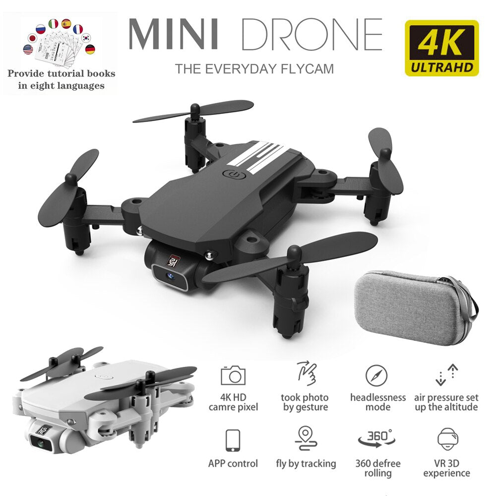 Drone 4K 1080P 480P HD Wide Angle Camera Height Keeping Mini Foldable Altitude Hold