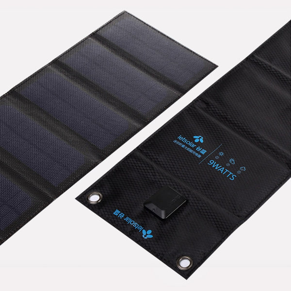MS9 Solar Cells Charger Folding Foldable Waterproof Solar Charger Fast Charge Portable Solar Panel Charger for Smartphones