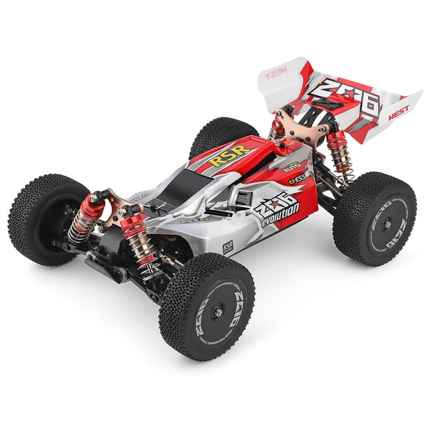 Wltoys 144001 1/14 2.4G Racing RC Car 4WD High Speed Remote Control 60km/h Quality