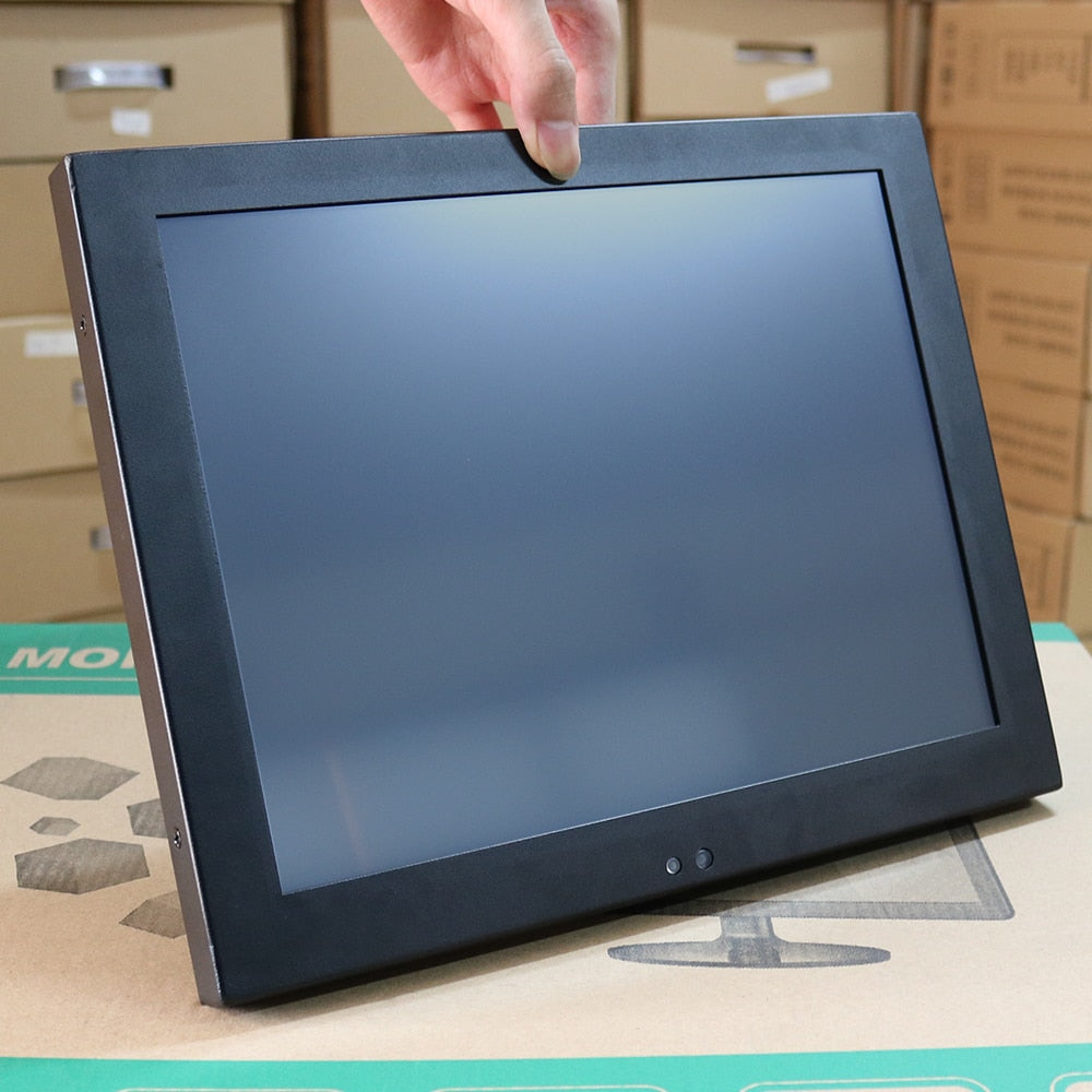 Industrial Monitor HDMI LCD Screen of Tablet VGA USB Resistance Touch Screen10 15 17 12 Inch