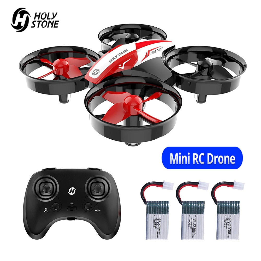 Holy Stone HS210 Mini Drone 3D  RC Drone Helicopter One Key Land Auto Hovering RC Quadcopter
