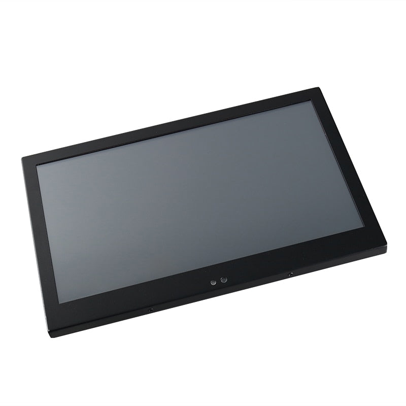 19 21.5 23.6 Inch Industrial Display LCD Screen Monitor of Tablet VGA DVI USB Resistance Touch Screen Embedded installation