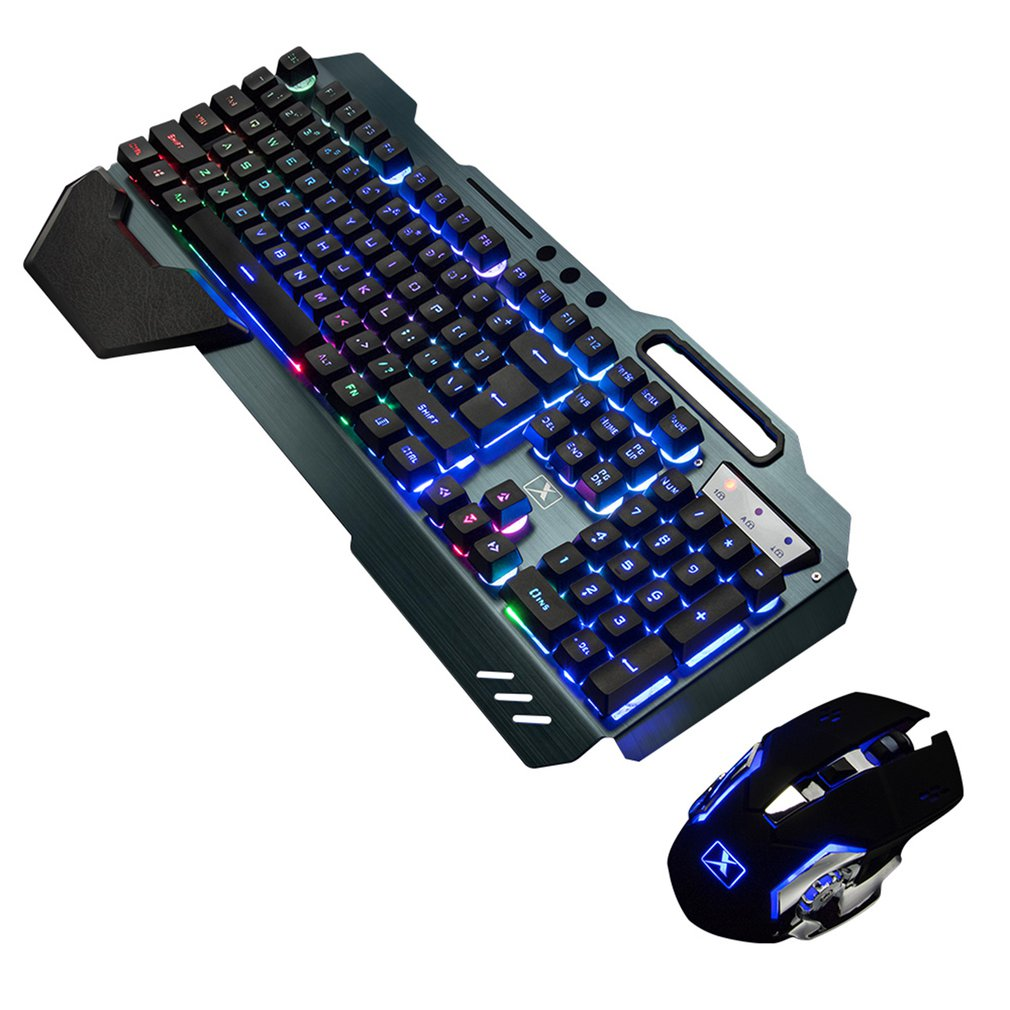 K680 Gaming keyboard and Mouse Wireless keyboard And Mouse Set LED Keyboard